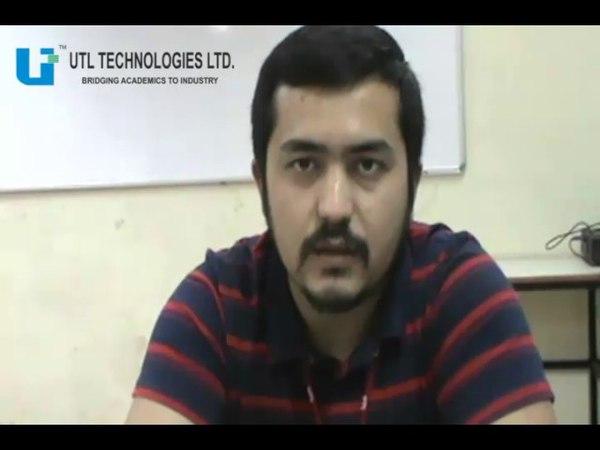 UTL Technologies Ltd - Testimonial from Mr. Akmaljon (UZBEKISTAN)