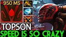 TOPSON [Bloodseeker] Speed is So Crazy 950 MS Cancer Gameplay 7.20 Dota 2