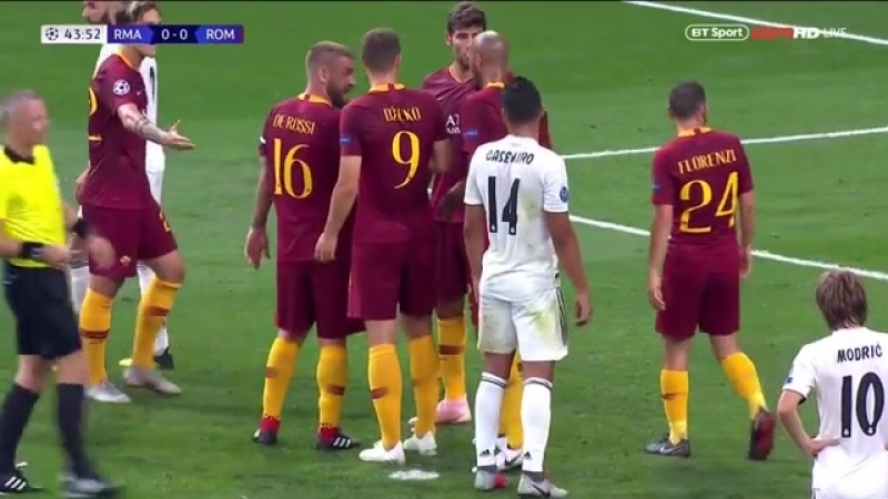 Real Madrid vs Roma 3-0 CHAMPIONS LEAGUE HIGHLIGHTS 19/09/2018