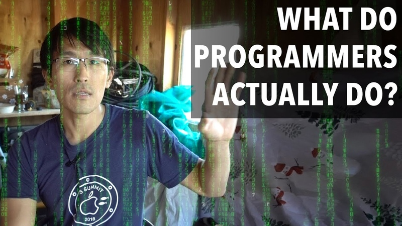 What do programmers actually do