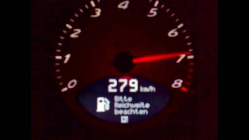 Porsche Boxster S 279 kmh