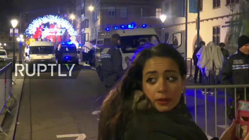 LIVE Breaking - Shooting In Strasbourg