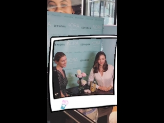 Snapchat | Sephora Toronto Eaton Centre | 21 сентября 2018
