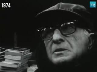 Les bouquinistes des bords de Seine - 1974