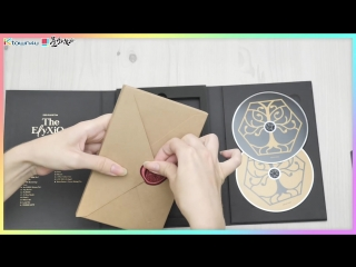 180822 Распаковка EXO - EXOPLANET#4 [The ElyXiOn] DVD