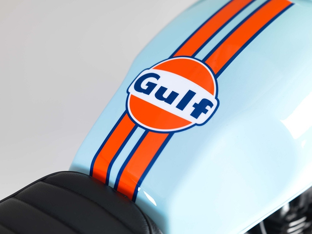 Мотоциклы Bullit Gulf Oil LE