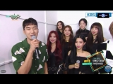 180817 (G)I-DLE Comeback Interview @ Music Bank