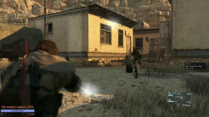 Metal Gear Solid V полное прохождение.Часть 5. [Metal Gear Solid V]