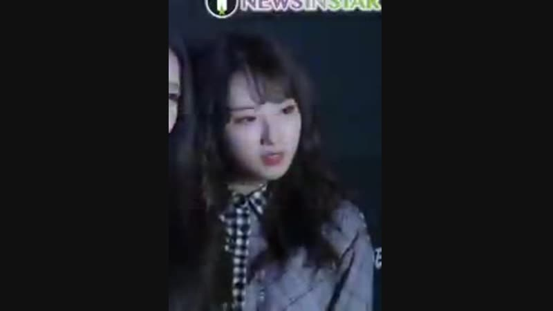 Haseul came to SERVE