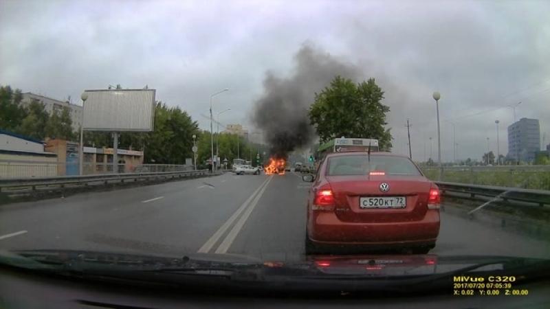 Дтп Тюмень Щербакова 118 остановка 2 заречный