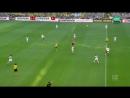 Чемпионат Германии 2017 18 31 й тур Боруссия Дортмунд Байер 1 тайм 720 HD