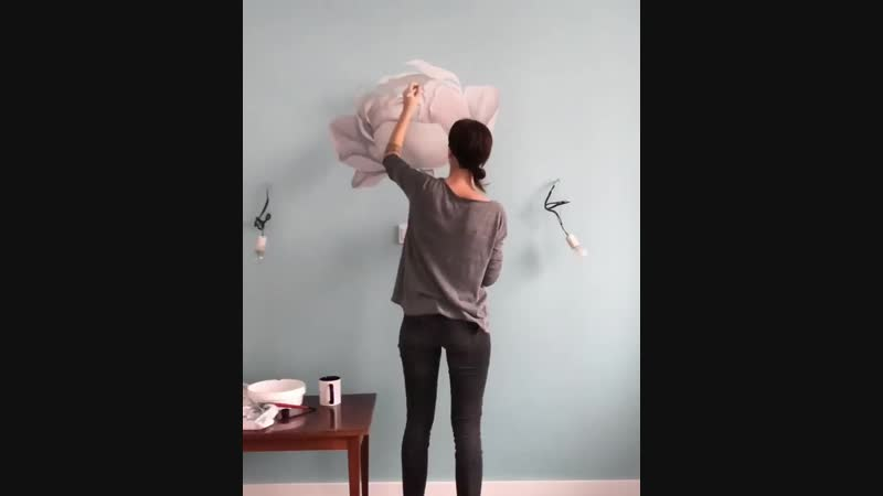 Роспись стены — T a n y a B o n y a