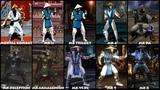 Mortal Kombat RAIDEN Graphic Evolution 1992-2015 ARCADE PSX PS2 XBOX PC PC ULTRA