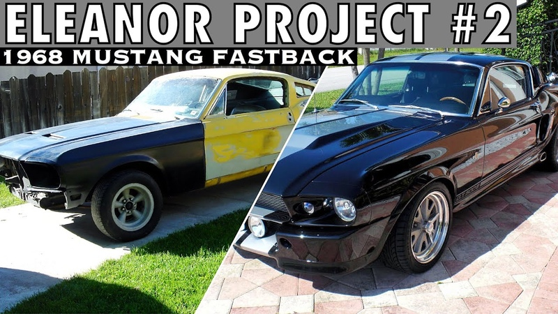 Eleanor 2 1968 Mustang Fastback GT500 - FULL BUILD