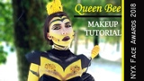 Queen Bee Makeup Tutorial NYX Face Awards 2018 Romania Entry