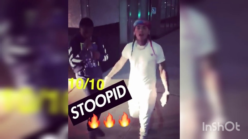 6IX9INE NEW SONG STOOPID [SNIPPET] 10 FOR 10 ON BILLBOARD CHARTS?