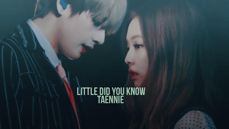 [FMV] TAENNIE (Taehyung x Jennie) - Little Do You Know