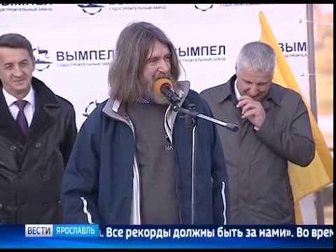 Путешественник Федор Конюхов принял участие в церемонии спуска на воду «Кометы 120 М»