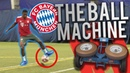 100MPH BALL MACHINE VS FC BAYERN