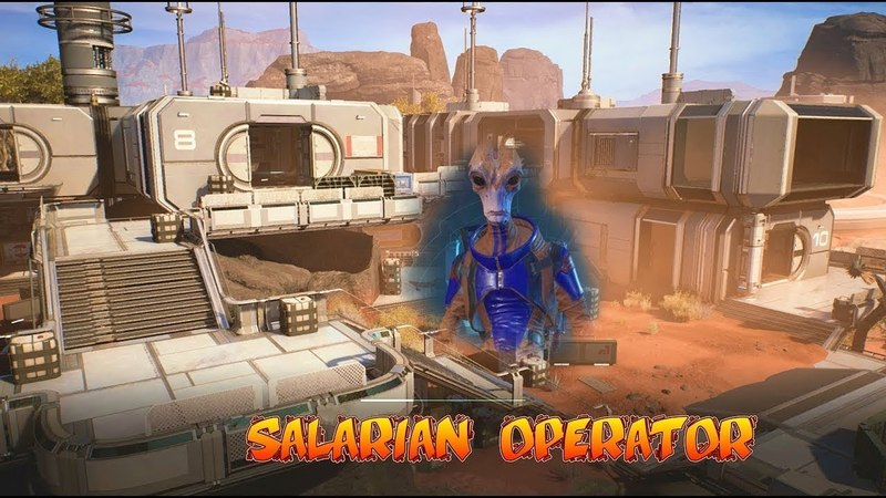 Gold SOLO Salarian Operator Mass Effect Andromeda Multiplayer