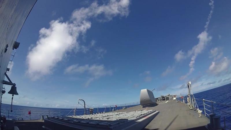 Учения ВМС США Valiant Shield 2018 в Филиппинском море
