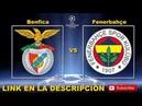 BENFICA VS FENERBAHCE LINK DE JUEGO EN DIRECTO UEFA CHAMPIONS LEAGUE