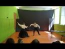 Сценическое фехтование Отрывок из Учителя фехтования Артуро Перес Реверте
