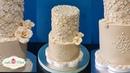 طريقة عمل كيكة الدانتيل لخطبة أو عرس Fondant Suger Lace Wedding Cake Tutor