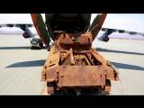 Доставка танка «Шерман» времен Великой Отечественной войны во Владивосток