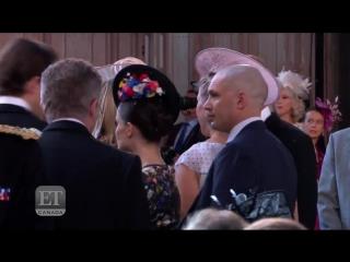 Том и Шарлотта на свадьбе принца Гарри и Меган Маркл part 3