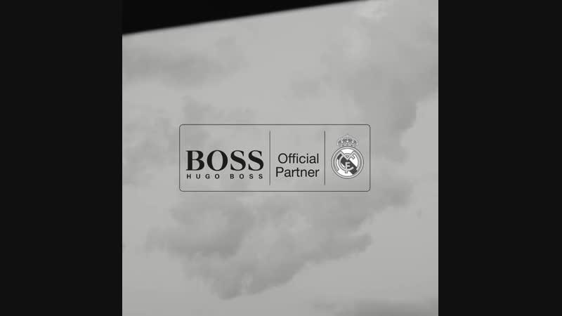 Мадридисты в рекламном ролике Hugo Boss