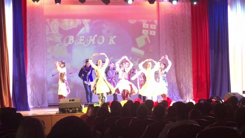 Электрофак Энергия Кубани Узбекский танец