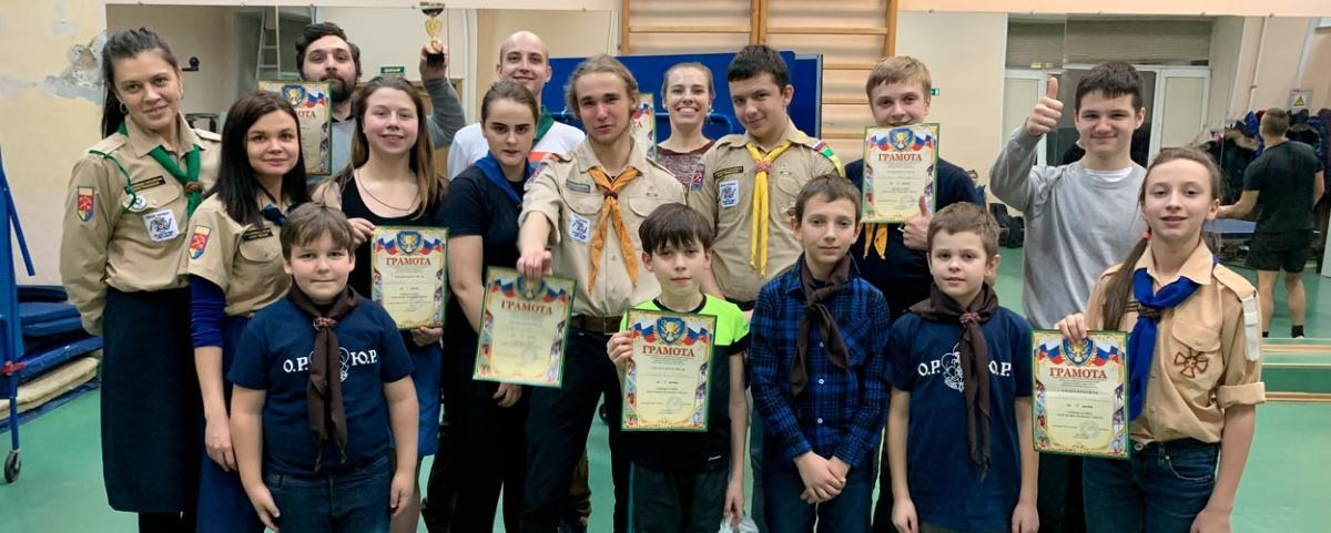 Юные разведчики Ленинградской области участвовали в турнире по настольному теннису