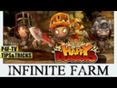▶ ▷ INFINITE FARM in the INFINITE DUNGEON | HAPPY DUNGEONS 🕹