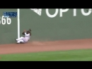 Boston Red Sox Outfielder Jackie Bradley Jr's Insane Catch Against the Minnesota Twins Earlier Today