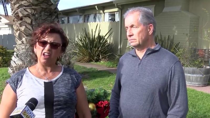 В Калифорнии скрытая камера зафиксировала парня который три часа ублажал языком дверной звонок