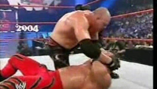 Bad.Blood.2004 - Chris Benoit Vs Kane - World.Title - Vidéo dailymotion