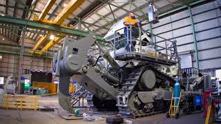 Liebherr - PR 776 Mining Dozer: Arrival to Australia and Fit Out to Mine Site Specification