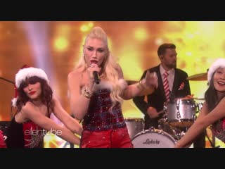 Gwen Stefani - Cheer for the Elves (Live @ Ellen Show)