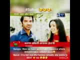 SaRun BTS - Sanaya Now we have gonna a fight sequence where Khushi takes Arnav down - BarunSobti Its her real life fantasy actua
