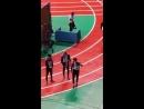 180115 Кун @ Idol Star Athletics Championships 2018