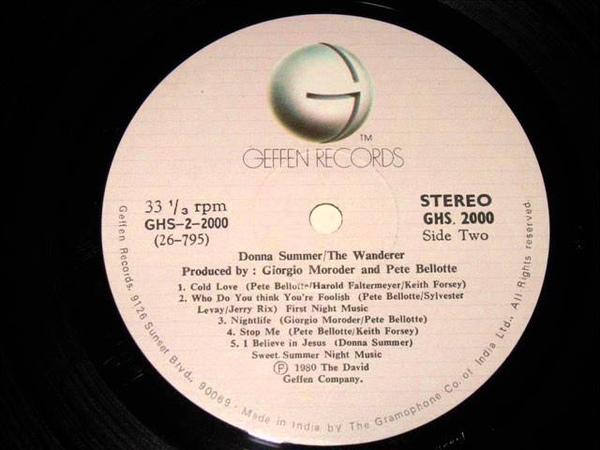 Donna Summer The Wanderer Full Album Side 2
