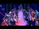 Огнедышащий дракон на сцене шоу <<Все, кроме обычного>>