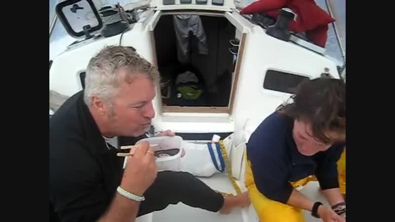 Sailor_Rick_eats_tuna_eyeball_with_Eugenie_and_Polly
