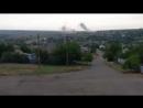 Обстрел танкистами ДНР опорника 93 бригады ВСУ в Гранитном.