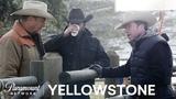 BTS Look at Yellowstone w Kevin Costner, Taylor Sheridan &amp More! Paramount Network