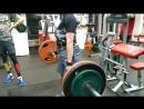 становая тяга 130 кг в гипоксической маске
