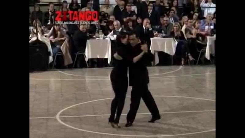 Lorena Ermocida y Osvaldo Zotto. 2008