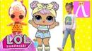 LOL/ЭТИ КУКЛЫ КРУЧЕ ЛОЛ! Куклы Подделки РАСПАКОВКА ЛОЛ / LOL SURPRISE/Kids Show Лапотуша