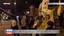 Курдская община организовала протест против бомбардировки турками Мексмур и Синджар